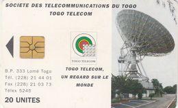 Togo, TOG-0020, 100 Units, Earth Station 20, 2 Scans    CN : 8 Digits - Togo