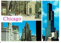 CHICAGO - Mehrbildkarte - Chicago
