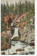 CPA Etats-Unis > CO - Colorado - Dusel Falls Near Grand Lake - Rocky Mountains