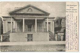 CPA Etats-Unis > LA - Louisiana - New Orleans - Old Beauregard Home, French Quarter - New Orleans