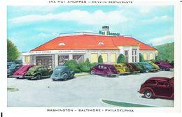 HOT SHOPPERS - Drive Inn Restaurant / Mit Alten US-PKW's - American Roadside