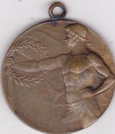 CROATIA  --  MEDAL  --  MARLJIVOSCU K POBJEDI  1929  --   HUGUENIN - Entriegelungschips Und Medaillen