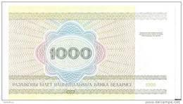 BIELORUSSIE 1000 RUBLEI 1998 UNC P 16 - Wit-Rusland