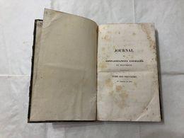JOURNAL DES CONNAISSANCE ECONOMIA RURALE INDUSTRIALE ATTREZZI AGRICOLI 1834 - Livres, BD, Revues
