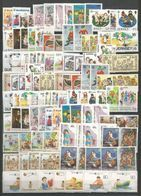 112 Stamps - MNH - Europa-CEPT - Art - Childrens - 1989 - 1989
