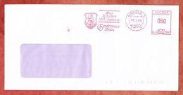Brief, Francotyp-Postalia B23-7697, Wappen, Gambrinus Braeu, 80 Pfg, Nagold 1988 (95718) - [7] Repubblica Federale