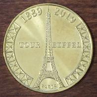 75 PARIS TOUR EIFFEL 130 ANS MÉDAILLE MONNAIE DE PARIS 2019 JETON MEDALS TOKENS COINS FRANCE FRENCH - 2019