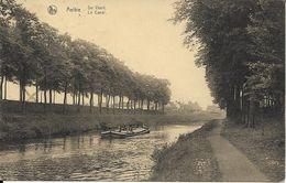 AELTRE   DE VAART   LE CANAL  PENICHE ( ECRITE  ) - Aalter
