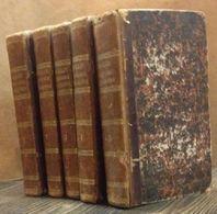 Abrégé De L'histoire Ancienne De Monsieur Rollin (5 Voll.) - Jacques Tailhié - Libros Antiguos Y De Colección