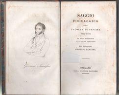 Saggio Fisiologico Sulla Facolta  Di Sentire Dell'uomo.. - Giovanni Tamassia - Libros Antiguos Y De Colección