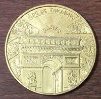 75008 PARIS ARC DE TRIOMPHE N°4 MÉDAILLE MONNAIE DE PARIS 2019 JETON TOURISTIQUE MEDALS COINS TOKENS - 2019