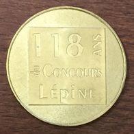 75 PARIS CONCOURS LÉPINE MÉDAILLE MONNAIE DE PARIS 2019 JETON TOURISTIQUE TOKENS MEDALS COINS INVENTEURS - 2019