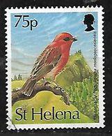 SAINT HELENA ISLAND 1993 MADAGASCAR RED FODY BIRD - St. Helena