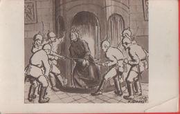 Curé Torturé A L'église De Leignon Pres Dinant (1914). Non Viaggiata - Cartes Postales