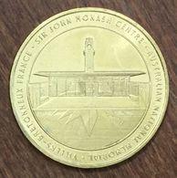 80 FOUILLOY SIR JOHN MONASH CENTRE MÉDAILLE MONNAIE DE PARIS 2019 JETON TOURISTIQUE TOKENS MEDALS COINS - 2019