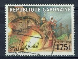 Gabon, Bwiti Dance, 1990, VFU, Scarce Stamp - Gabon (1960-...)
