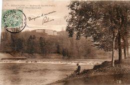 25CB111BesançonBarrage Saint Paul & Fort Beauregard9Circulée 1907 - Besancon