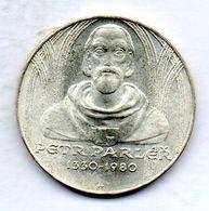 CZECHOSLOVAKIA, 100 Korun, Silver, Year 1980, KM #100 - Checoslovaquia