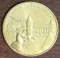 78 CHÂTEAU DE RAMBOUILLET LE CERF MÉDAILLE MONNAIE DE PARIS 2019 JETON TOKENS MEDALS COINS - 2019