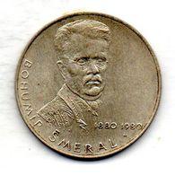 CZECHOSLOVAKIA, 100 Korun, Silver, Year 1980, KM #102 - Checoslovaquia