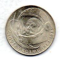 CZECHOSLOVAKIA, 100 Korun, Silver, Year 1981, KM #103 - Checoslovaquia