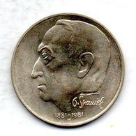 CZECHOSLOVAKIA, 100 Korun, Silver, Year 1981, KM #104 - Checoslovaquia