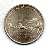 CZECHOSLOVAKIA, 100 Korun, Silver, Year 1982, KM #107 - Checoslovaquia