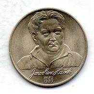 CZECHOSLOVAKIA, 100 Korun, Silver, Year 1983, KM #109 - Checoslovaquia