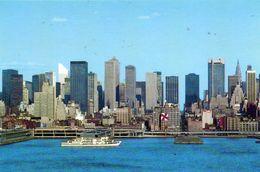 Hdson River Piers And Midtown Manhattan Skyline N.Y. City - Phot. John Quigley - Manhattan