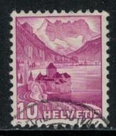 Suisse // Schweiz // Switzerland // 1907-1939 // Paysages (papier Grillé Planche Regravée) Oblitéré No.203Az - Suisse