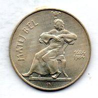 CZECHOSLOVAKIA, 100 Korun, Silver, Year 1984, KM #113 - Checoslovaquia