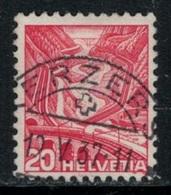 Suisse // Schweiz // Switzerland // 1907-1939 // Paysages (papier Grillé Planche Regravée) Oblitéré No.205Az - Suisse