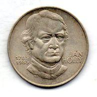 CZECHOSLOVAKIA, 100 Korun, Silver, Year 1985, KM #116 - Checoslovaquia