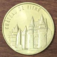 39 LE CHÂTEAU DE VITRÉ MÉDAILLE TOURISTIQUE MONNAIE DE PARIS 2019 JETON MEDALS COINS TOKENS - 2019