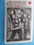 TIMBRE : No: 1324a , L'AVEUGLE , VARIETE , SIGNATURE MACULEE , XX , En Bon état - Neufs