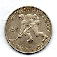 CZECHOSLOVAKIA, 100 Korun, Silver, Year 1985, KM #117 - Checoslovaquia