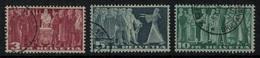 Suisse // Schweiz // Switzerland // 1907-1939 // Images Symboliques, Papier Verdâtre No.216v-218v - Suisse