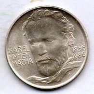 CZECHOSLOVAKIA, 100 Korun, Silver, Year 1986, KM #123 - Checoslovaquia