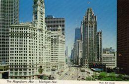 The Magnificent Mile - Michigan Ave. Phot. Bob Glander - Chicago Illinois - The Aero Co. Evanston Ill. - Chicago