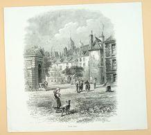 Centre-ville De Sedan/ Binnenstad Sedan (F)/ Inner City Sedan (F) 1878 - Estampes & Gravures