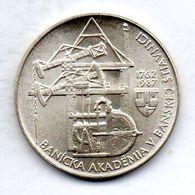 CZECHOSLOVAKIA, 100 Korun, Silver, Year 1987, KM #128 - Checoslovaquia