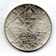 CZECHOSLOVAKIA, 100 Korun, Silver, Year 1988, KM #130 - Checoslovaquia