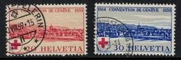 Suisse // Schweiz // Switzerland // 1907-1939 // 75 Ans De La Croix-Rouge No.240-241 - Suisse