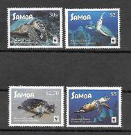 Samoa 2016 Animals - Turtles WWF MNH - Turtles