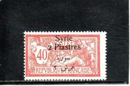 SYRIE 1924-5 ** - Syria (1919-1945)