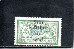 SYRIE 1924-5 * - Syria (1919-1945)