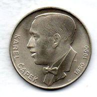 CZECHOSLOVAKIA, 100 Korun, Silver, Year 1990, KM #137 - Checoslovaquia