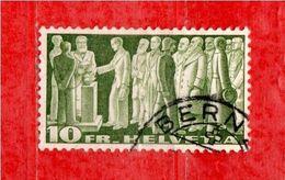 SVIZZERA ° -1938 -  SOGGETTI STORICI. - Suisse