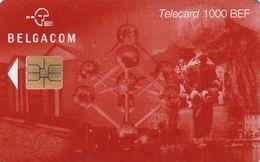 BELGIUM - Atomium 1000 BEF, Tirage 20000, Exp. Date 30/06/01, Used - Belgique