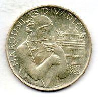 CZECHOSLOVAKIA, 500 Korun, Silver, Year 1983, KM #112 - Checoslovaquia